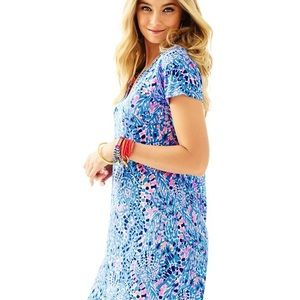 Like new! Lilly Pulitzer Duval Cap Sleeve Dress